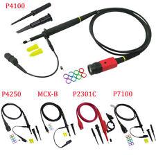 Cleqee 1X 10X 100X Oscilloscope Scope Test Probe P4100/P4250//P2301C/P7100