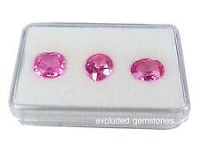 GEMSTONE GEM DISPLAY BOX JAR SHOW CASE CLEAR WHITE PLASTIC ON TOP SIZE 3.5X5.5CM