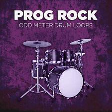 Prog Rock Odd Meter Drum Loops 24-bit WAV Cubase Logic Pro Tools Garageband