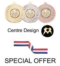 Offre spéciale 10 x Karaté Métal 50 mm médailles & Ruban