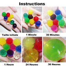 50 pcs billes ou perles d'eau boules décoratives pour bocal - 5,0 – 7.0 mm