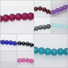 20 Stück Original POLARIS Perlen 10mm groß LILA brombeer purple MIX 4 Farben