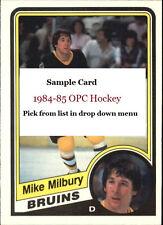 1984-85 O-Pee-Chee Hockey RC Stars goalies - u pick from list  #109-166