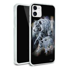 White Bengal Tigers Apple iPhone 8, 8 Plus, X, 11 Case
