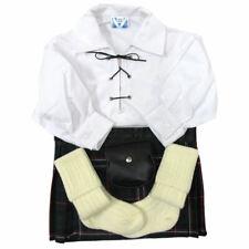 Ensemble kilt bébé - chemise/kilt/sporran/chaussettes - Schottish National