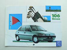 Catalogue  Peugeot   106   green 1994  Prospectus