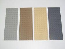 Lego ® Construction Plaque 6x16 Plate Platten Choose Color ref 3027 NEW