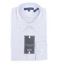 Brand New Tommy Hilfiger Men's Long Sleeve Striped Dress Shirt - $0 Free Ship