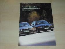 32317) BMW 5er E34 3er E36 TD Prospekt 1993