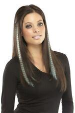 "EasiPrints by EasiHair 16"" Hair Extensions Clip In U Choose Color Heat OK"