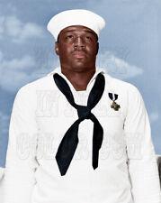 Kennedy Navy Dress Uniform color photo 1942 John F I10086 US President Lt