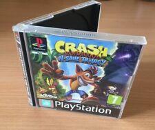 Ningún juego-Crash Bandicoot N. Sane trilogía PS1 Playstation One PAL embutido caso