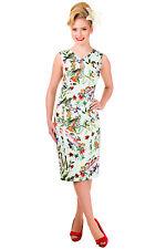 Womens banned floral print birds sleeveless summer slim bye tube