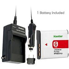 NP-BG1/FG1 Battery& Charger for Sony CyberShot DSC-W120 DSC-W170 DSC-W210 DSC-H3