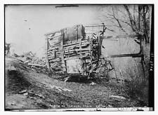 Photo of Wreck of Teacher;s train. Easton, Pa.