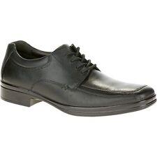 Hush Puppies Men's H102826 Quatro Black Leather Oxford Shoe