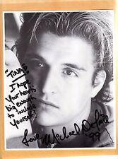 Michael Deluise-signed photo - coa