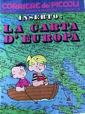 Corriere dei Piccoli 2 1970 Valentina Mela Verde I Puffi - Jacovitti Occhio di P