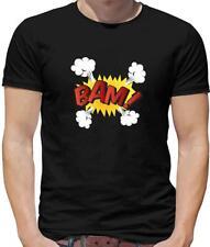 Superhero Bam Mens T-Shirt - Comic - Comics - Pop Art - Graphic Novel - Heroes