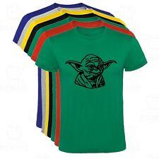 Camiseta Yoda Star Wars Dibujo hombre tallas y colores