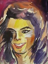 Michael Jackson Pop Music King Jackson Five Celebrity Portrait