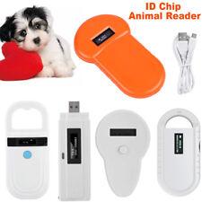 Universal RFID Microchip Handheld Pet Scanner ISO FDX-B Animal Chip ID Reader