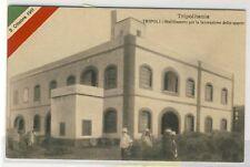 7580-Tripolitania,Tripoli Stabilimento lavorazione dello Sparto, primi del '900