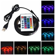 1-5M RGB 5050 USB LED Flexible Strip Wasserdich& Nicht Wasserdicht Lichtstreifen