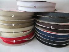 1m; 5m Klettband, Klettverschluss Komplett  , 20mm,  zum Aufnähen