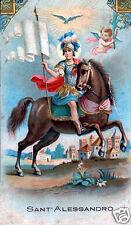 SANTINO HOLY CARD SANT' ALESSANDRO DI BERGAMO n 1
