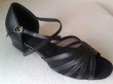 Ladies Latin Dance Shoes Line Salsa Ballroom UK 3 - 8