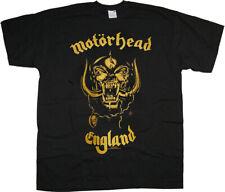 Motorhead England Lemmy Kilmister Warpig Rock Official Tee T-Shirt Mens Unisex