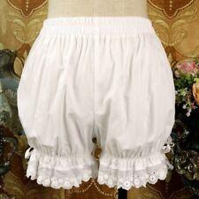 Women Girl Lolita Lace Ruffle Shorts Bloomers Underwear Safety Pants Cotton Cute