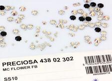 Véritable Preciosa Czech crystal fleur no hotfix plat dos & toutes les couleurs et tailles