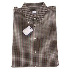 8337P camicia uomo quadretti CARREL manica lunga shirt men