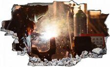 Schweißen Metall Work Werkstatt Wandtattoo Wandsticker Wandaufkleber C0901