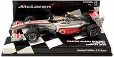 Minichamps McLaren Mercedes Showcar 2010 - Lewis Hamilton 1/43 Scale