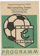 PRG   DDR-OL  79/80   CHEMIE LEIPZIG - SACHSEN.ZWICKAU