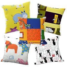 Pillow Cover*Kid's Cotton Canvas Sofa Seat Pad Cushion Case Custom Size*AL9