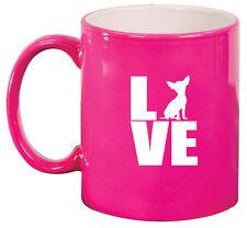 11oz Ceramic Coffee Tea Mug Glass Cup Love Chihuahua
