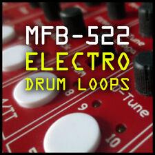 MFB-522 Analogue Drum Machine Loops & Samples - Electro Hip Hop - Ableton Logic