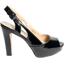 scarpe donna elegante  luciano barachini 4062D VERNICE NERO