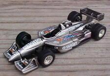 Jimmy Vasser Brushed Bare Metal Superman Indy Cart Open Wheel Racing Car 1/64