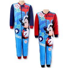 Disney Mickey Mouse* Schlafanzug Overall Fleece 98 - 128 NEU