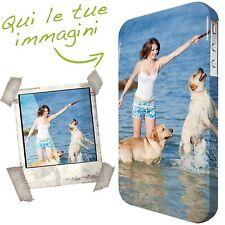 Cover personalizzata per IPHONE rigida HD 3D BORDI COLORATI lavabile Qualità top