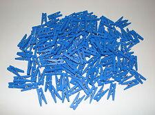 *** 1/10/20/40/60/80/160/400 - Mini Pinces à Linge en bois - 25 mm ** Bleu Foncé