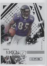 2009 Donruss Rookies & Stars Longevity Parallel Holofoil #7 Derrick Mason Card