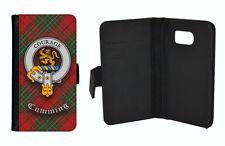 Cumming Clan Flip Case for Galaxy S3/S4/S5/S6/S7/S8 + Note Edge Mini -Scottish