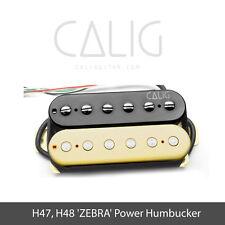 CALIG - H47,H48 'ZEBRA' Power Humbucker Pickup Neck/Bridge