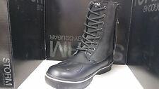 Storm By Cougar Squire Men's Guaranteed Waterproof Boots Black SlateNubuck/Suede